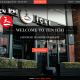 Tenichi Resturant Website Home page Image
